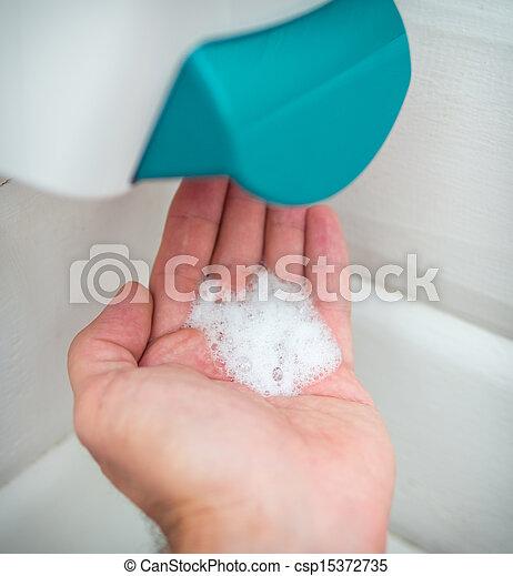 Hand washing - csp15372735