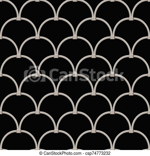 hand woven mesh fence made of stainless wire seamless - csp74773232
