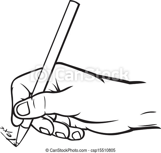 hand writing - csp15510805