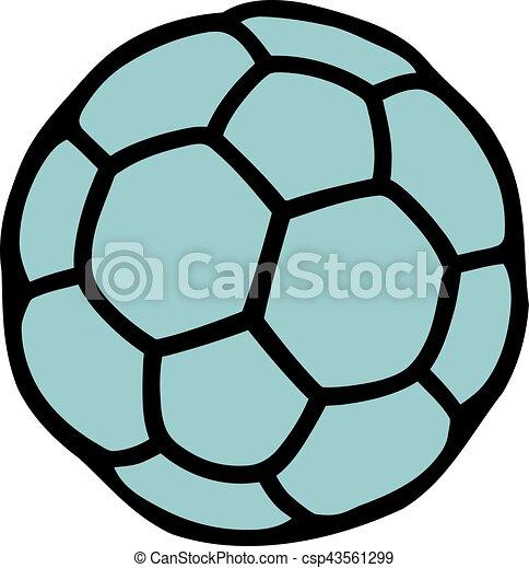Handball Ball Canstock