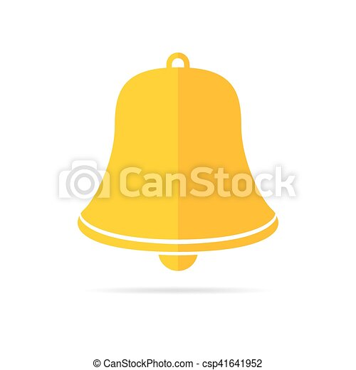 Handbell icon. Vector illustration. - csp41641952