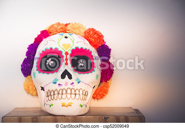 Tradicional Catrina de Catrina Mexicana - csp52009049