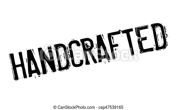 handcrafted rubber stamp grunge design with dust scratches effects