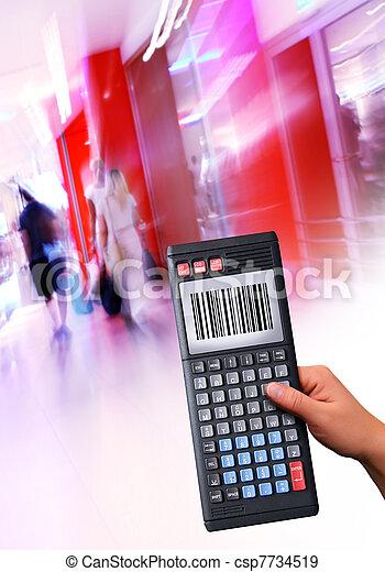 handheld computer - csp7734519