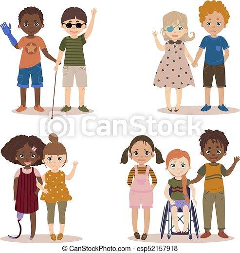 Handicapé Enfants Friends