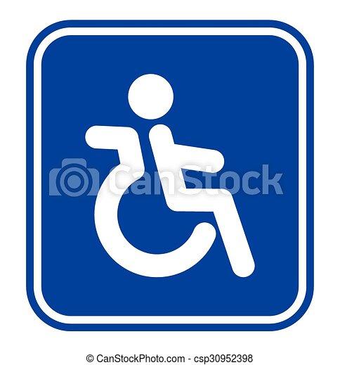 handicap or wheelchair person symbol eps vectors search clip art rh canstockphoto com handicap vector sign handicap vector art