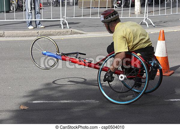Handicapped Racer - csp0504010