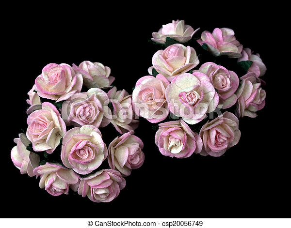 Handicraft paper as rose flower handicraft paper flower as stock handicraft paper as rose flower csp20056749 mightylinksfo