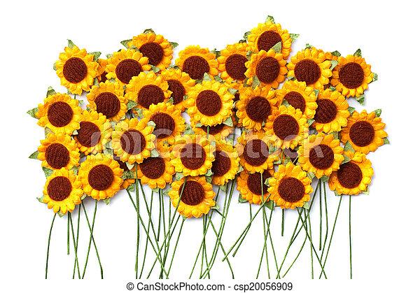 Handicraft paper flower handicraft paper of sunflower handicraft paper flower csp20056909 mightylinksfo
