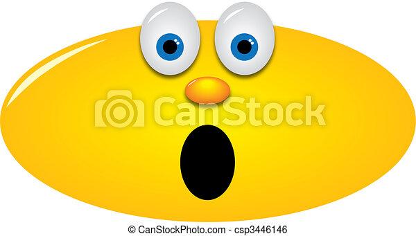 handlande, smiley, snopen - csp3446146