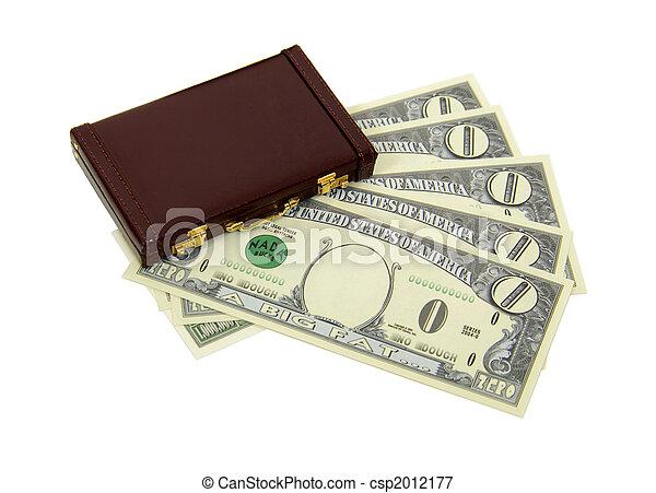 handlowy, pieniądze, zero, korzyści, wartość - csp2012177