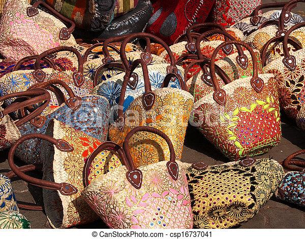 handmade bags - csp16737041