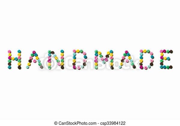Handmade - csp33984122
