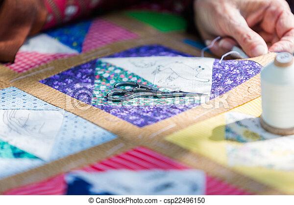 Handmade craft - csp22496150