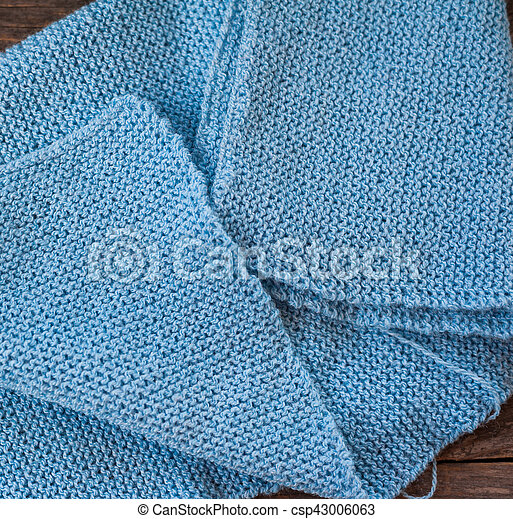 Handmade knitted scarf - csp43006063