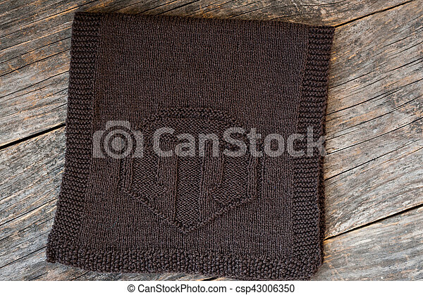 Handmade knitted scarf - csp43006350