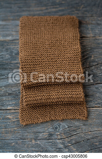Handmade knitted scarf - csp43005806