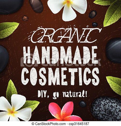 Handmade organic cosmetics - csp31645187