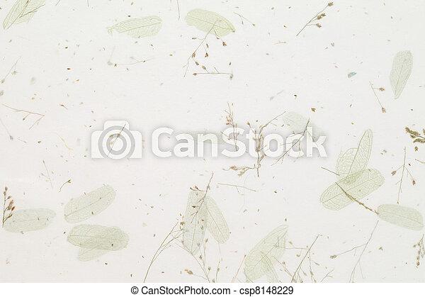 handmade paper - csp8148229
