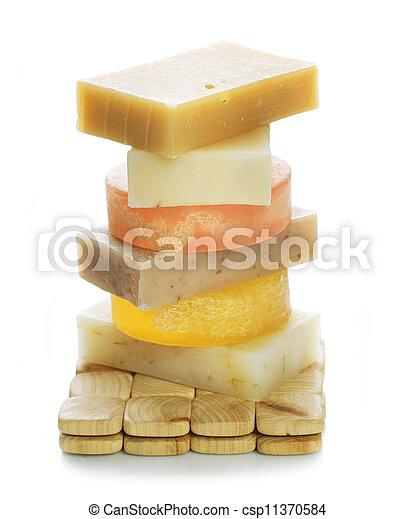 Handmade Soap  - csp11370584