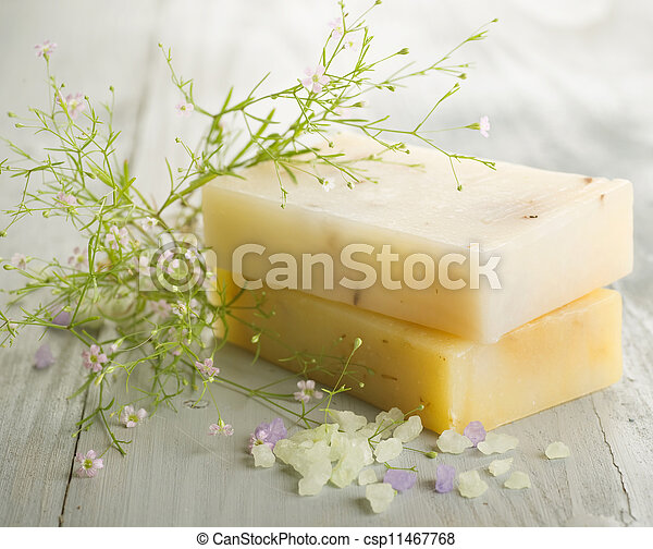 Handmade Soap. Spa Products  - csp11467768