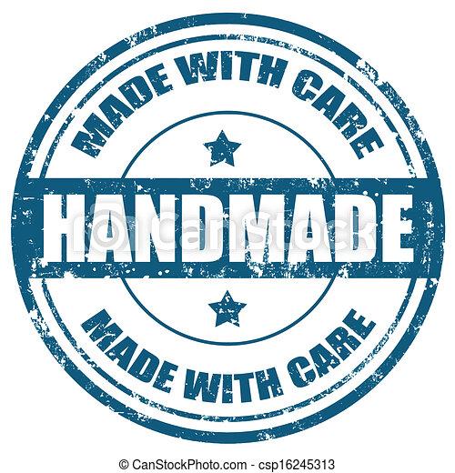 Handmade-stamp - csp16245313