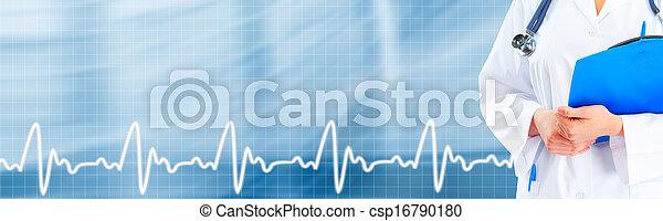 Hands of medical doctor. - csp16790180