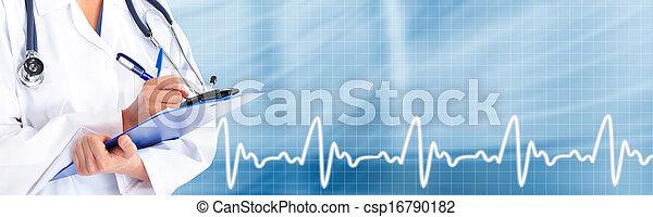 Hands of medical doctor. - csp16790182