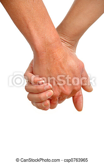 Hands of two generations - csp0763965