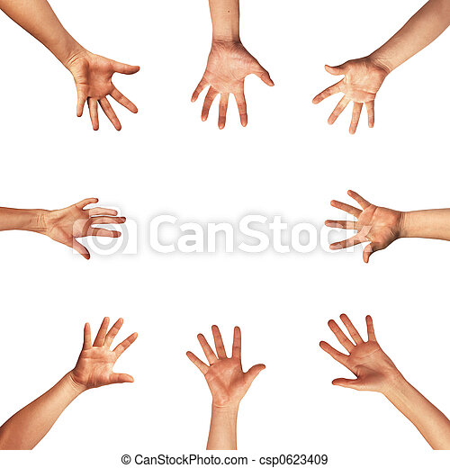 Hands - csp0623409