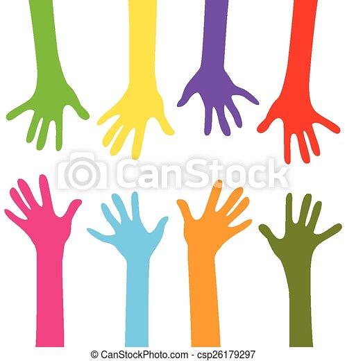 hands together - csp26179297