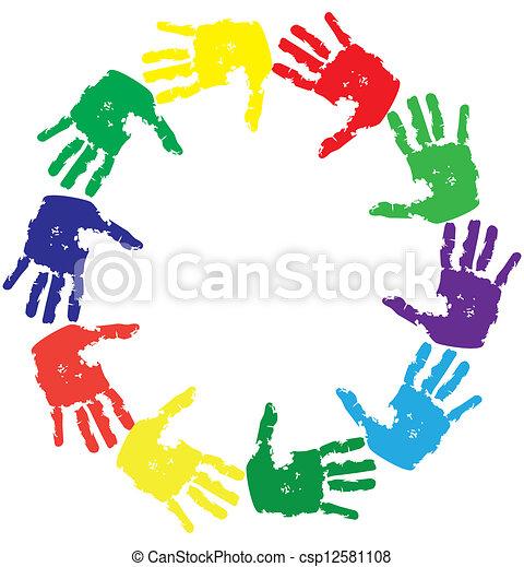 hands - csp12581108