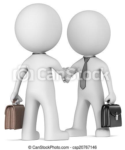 handshake., business - csp20767146