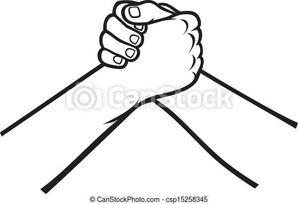 handshake - csp15258345