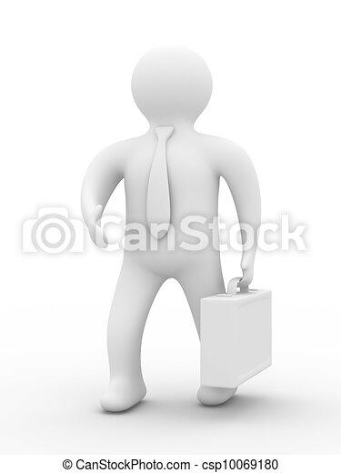 handshake., imagem, isolado, experiência., homens negócios, branca, 3d - csp10069180