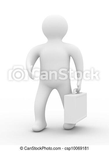 handshake., imagem, isolado, experiência., homens negócios, branca, 3d - csp10069181
