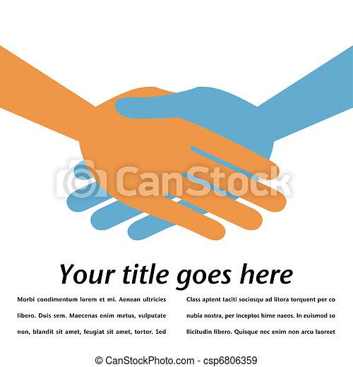 Handshake symmetry.  - csp6806359