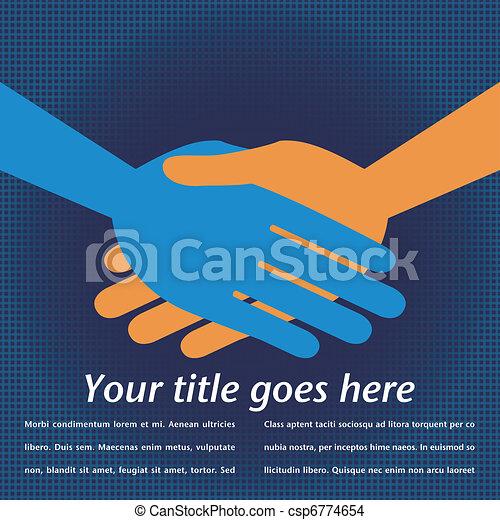 Handshake symmetry.  - csp6774654