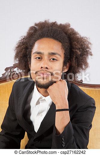 Handsome black dude