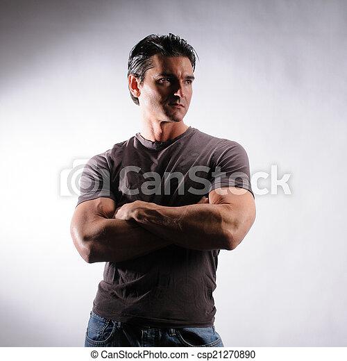 handsome man - csp21270890