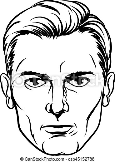 mans face drawing handsome mans pop art face a handsome mans face in a 5539