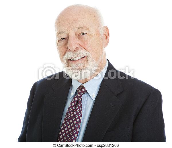 Handsome Senior Businessman - csp2831206