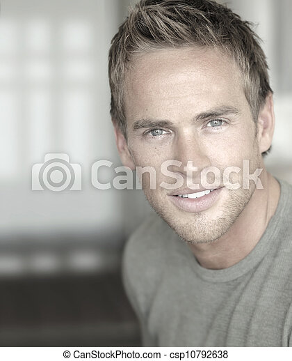 Handsome young man - csp10792638