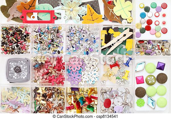 handwerk, materialien - csp8134541