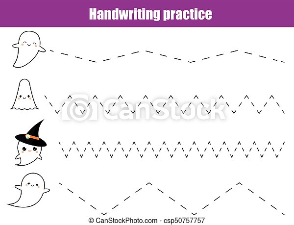 Handwriting practice. learning mathematics and numbers.... clipart ...