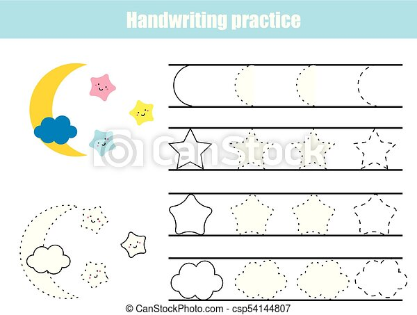 Handwriting Practice Sheet Educational Vector Clipart Csp additionally Letter Formation Worksheet Lowercase D Puzzle Game additionally Number Handwriting Practice Worksheet Puzzle Game besides Stock Vector Preschool Worksheet Trace The Shapes And Color Basic Writing And Coloring Practice as well Easy Christmas Crossword Puzzle Building. on number handwriting practice worksheet puzzle game
