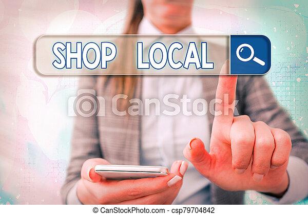 Buy local essay