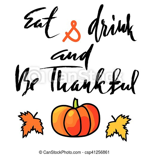 handwritten thanksgiving day lettering vector illustration clip rh canstockphoto ca thanksgiving day turkey clipart happy thanksgiving day clipart