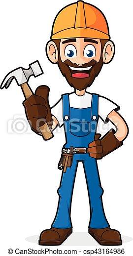 handyman, ハンマー, 保有物 - csp43164986
