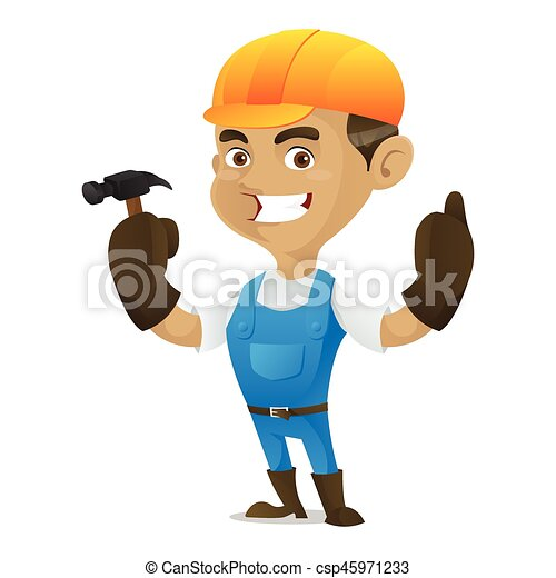 handyman, ハンマー, 保有物 - csp45971233